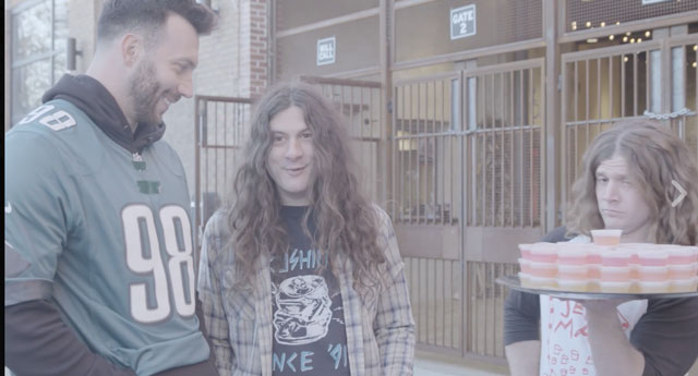 [CSNPhily] Connor Barwin and Kurt Vile promote New Year's show in bizarre fashion