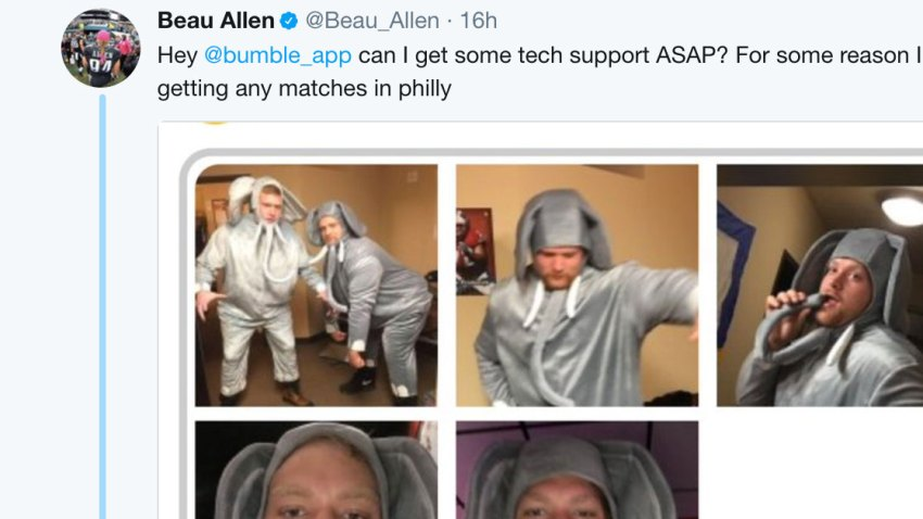[CSNPhily] Beau Allen's dating app profile is hilarious