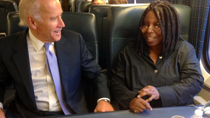 biden and whoopi