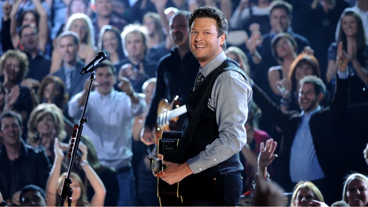 blake shelton the voice