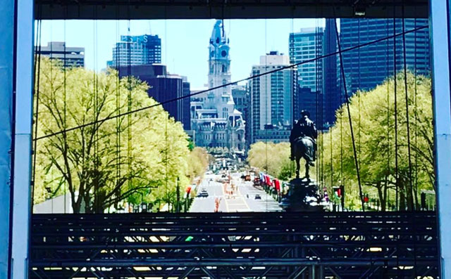 [CSNPhily] Watch: NFL draft stage is going up quickly in front of Philadelphia Museum of Art