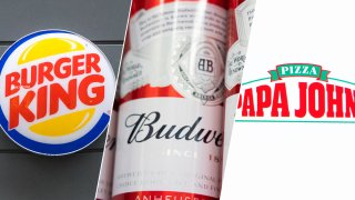 Big brands like Burger King, Anheuser-Busch and Papa John's are rethinking the hard sell when it comes to marketing and advertising during the economic slowdown caused by the pandemic.