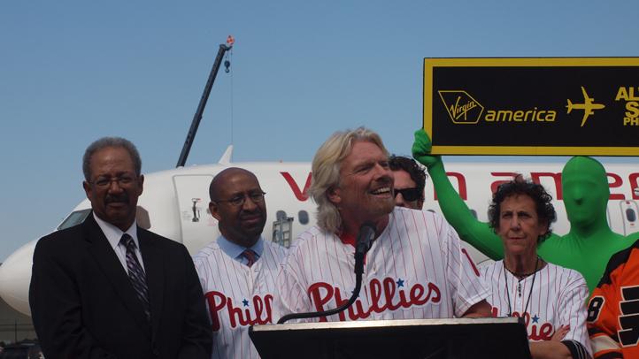 Richard Branson Philly