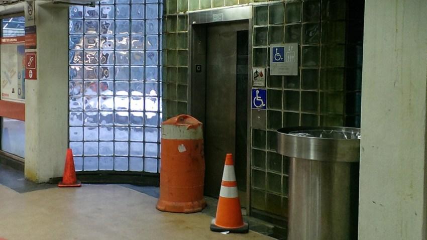 broken concourse elevator