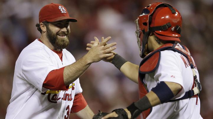 NLCS Brewers Cardinals Baseball