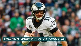 [CSNPhily] Live stream: Carson Wentz's Eagles press conference at 12:00 p.m. ET Thursday