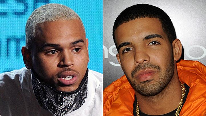 Chris Brown Drake split brawl fight W.I.P. Work in Progress club