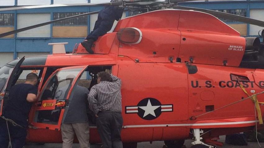 coast guard chopper mitch blacher