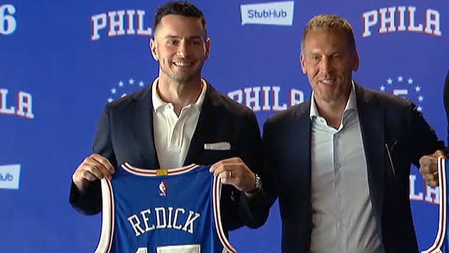 [CSNPhily] Behind JJ Redick's decision to sign with Sixers lies burning desire to play for Brett Brown