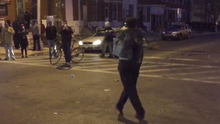 dancing protester dimitri reeves