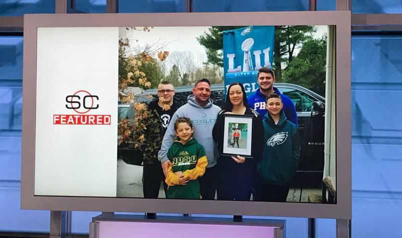 [CSNPhily] Carson Wentz helped the Dutch Destroyer's family attend the Super Bowl