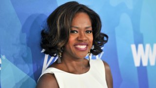 In this Nov. 19, 2015, file photo, actress Viola Davis attends the WWD And Variety's Stylemakers Event at Smashbox Studios in Culver City, California.