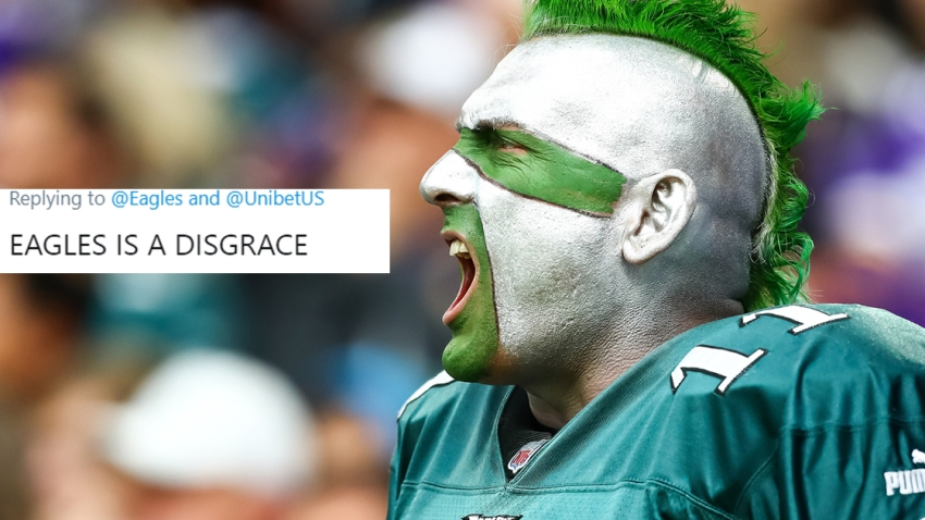 [CSNPhily] Eagles fans go wild on the Eagles' social media account