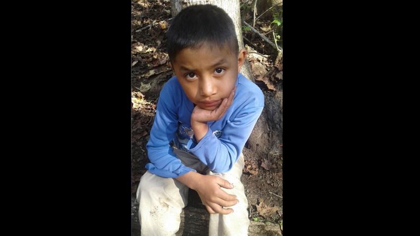 APTOPIX Guatemala Child Dead Border