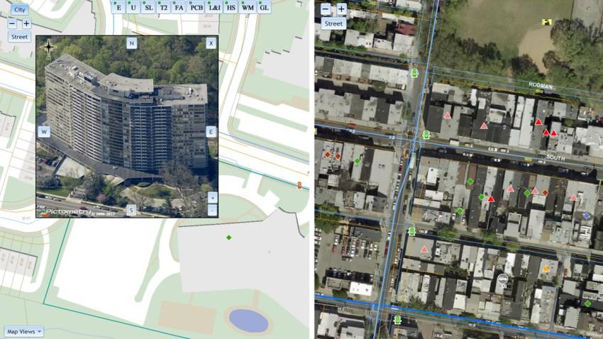 firefighter GIS app