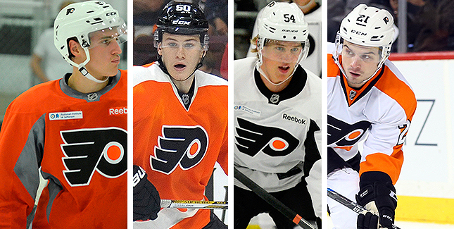 [CSNPhilly] End to End: Which Flyers prospect has most to lose in 2017-18?