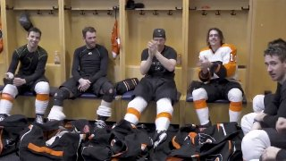 [CSNPhilly] How Flyers found their 2019-20 victory song '2 Times' by Ann Lee