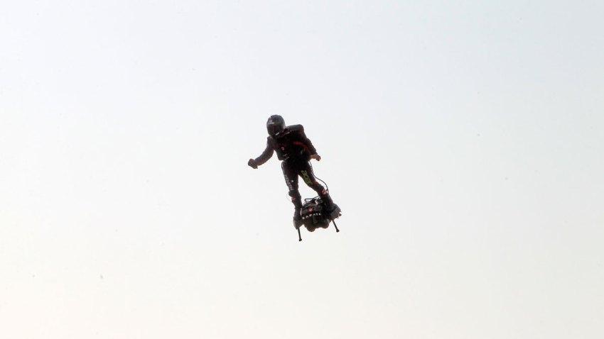 France Flying Man