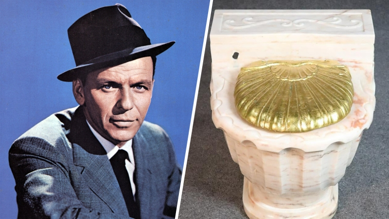 Ever Wanted to Own Frank Sinatra's Marble Toilet? Now You Can