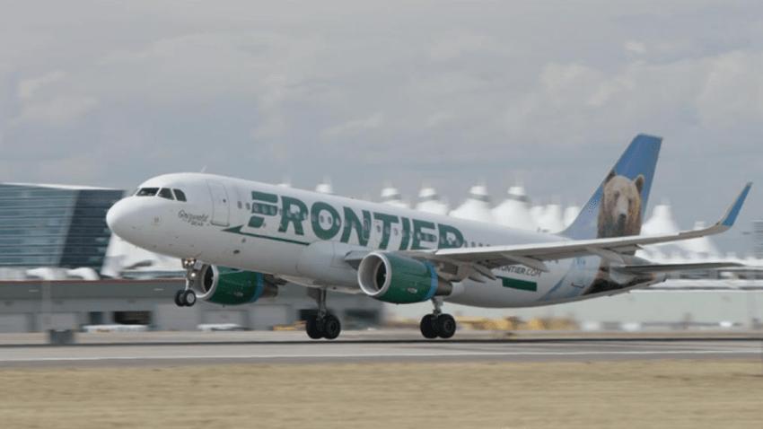 frontier airlines PBJ