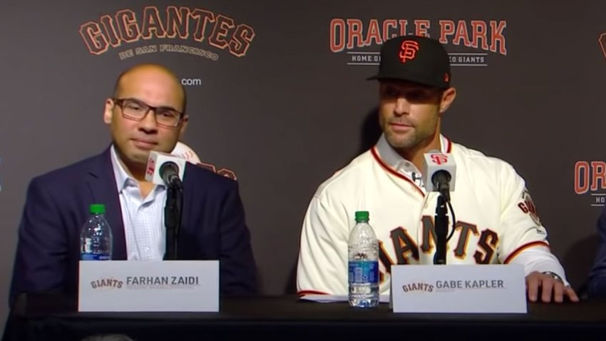 [CSNPhily] Gabe Kapler faces uphill battle in San Francisco as Giants on defensive from the jump