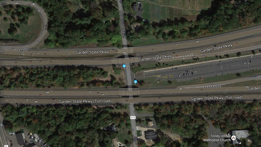 garden state parkway to close