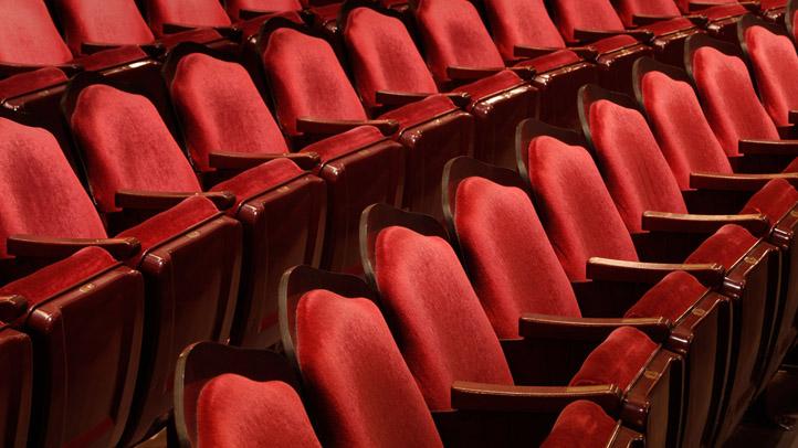 generic theater seats generic shutterstock_79321708