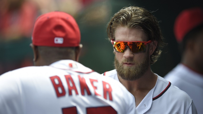 [CSNPhily] Source: Phillies set to interview Dusty Baker, one of Bryce Harper's former managers