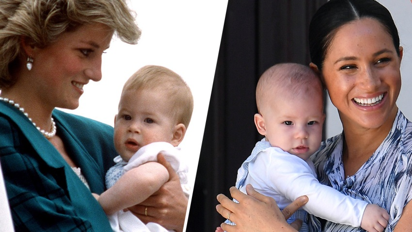 Like Father, Like Son! See How Much Prince Harry and ...