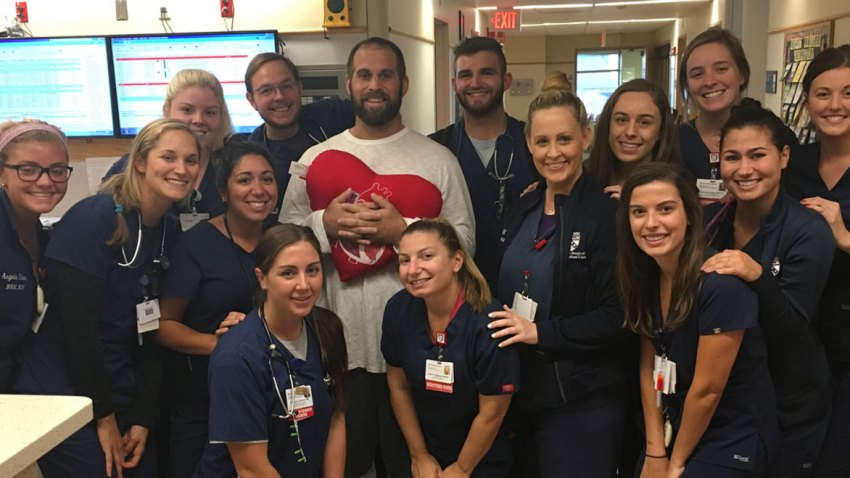 [CSNPhily] Jon Dorenbos posts emotional thanks a month after heart surgery