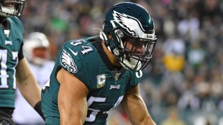 [CSNPhily] Eagles starting LB Kamu Grugier-Hill pops up on injury report with a concussion