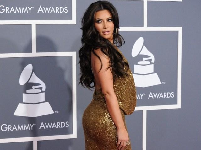 kim kardashian grammy dress