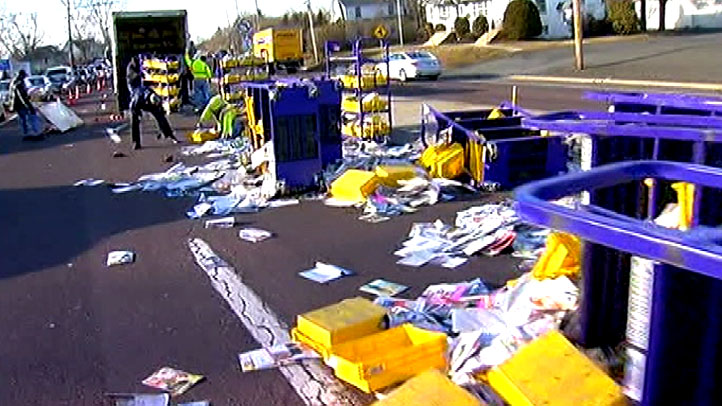 mail road spill route 611