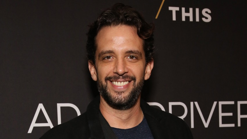 """In this April 15, 2019, file photo, Nick Cordero attends the Broadway Opening Night Arrivals for """"Burn This"""" at the Hudson Theatre in New York City."""