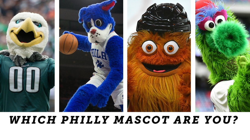 [CSNPhily] Which Philly mascot are you? Take the quiz