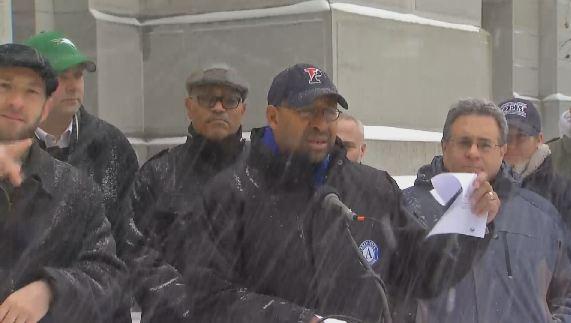 mayor michael nutter snow presser