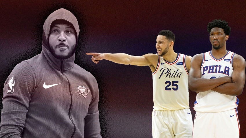 [CSNPhily] Sixers reportedly have interest in free agent Carmelo Anthony