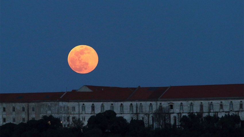 Portugal Supermoon