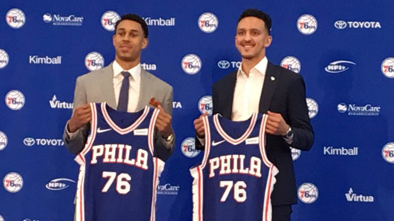 [CSNPhily] Sixers sign Landry Shamet to rookie contract