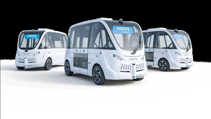 nj transit self driving buses