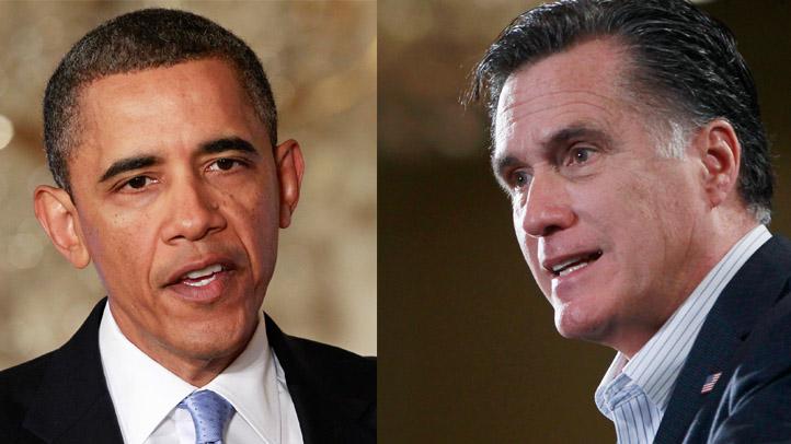 obama romney split
