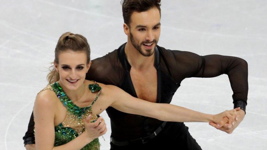[NBCO-Image]Olympics: Figure Skating-Ice Dance Short Dance