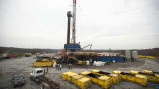 pennsylvania fracking rig