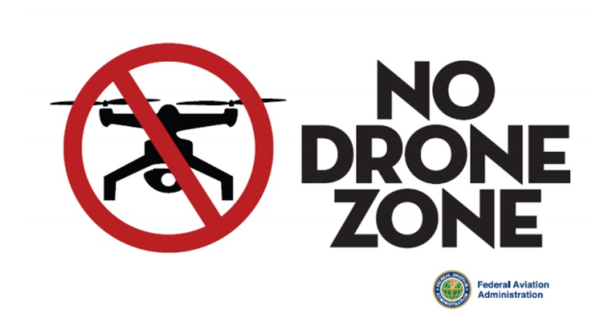 philly pope no drone zone faa