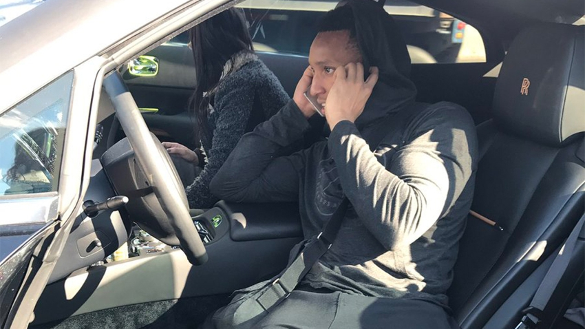 [CSNPhily] Evan Turner pulls over Rolls Royce to help stranded woman after crash
