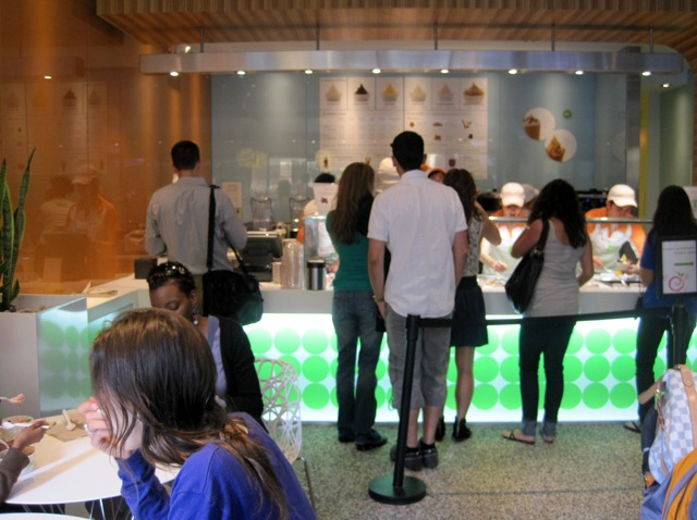 pinkberry interior feast