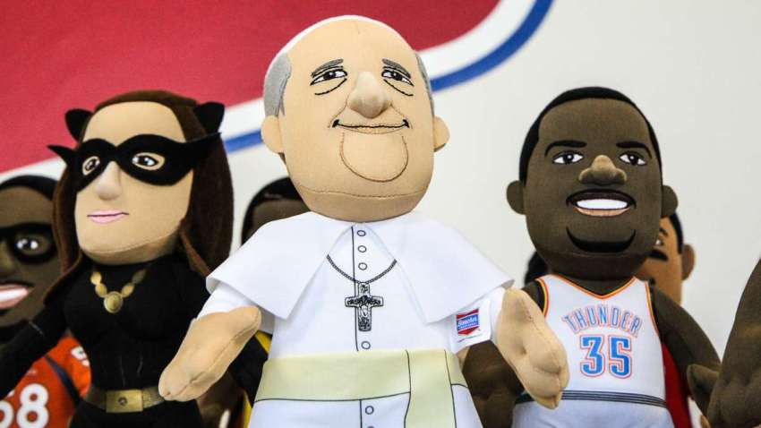 plush pope francis