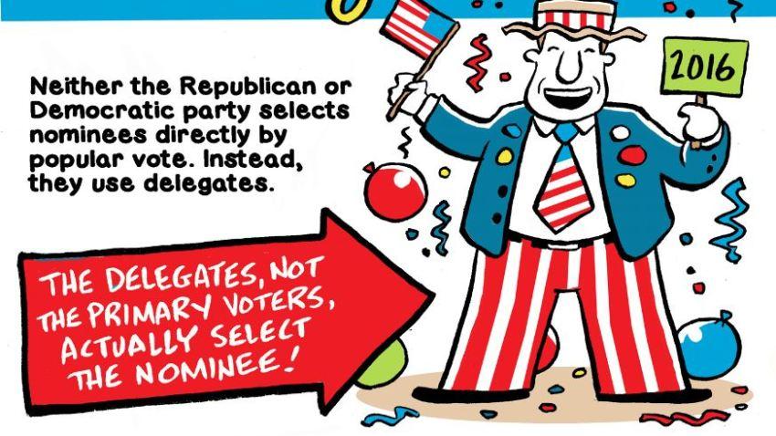 popular vote vs the delegates