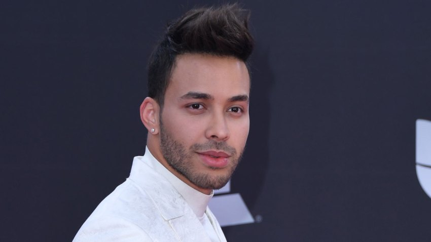 Prince Royce attends the 20th Annual Latin Grammy Awards at the MGM Grand Garden Arena on November 14, 2019 in Las Vegas, Nevada.