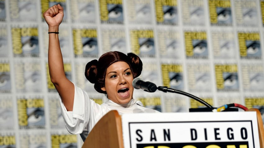Star Wars Fan Clubs Honor Carrie Fisher At Comic Con Nbc10